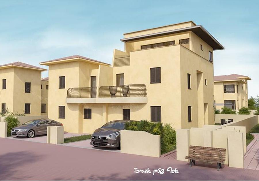כולם חדשים בית במושב צור משה – תוספת בניה על גג | אסף שטיין KJ-82