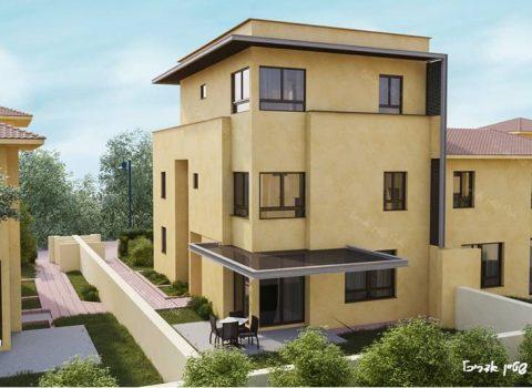 בית במושב צור משה  – תוספת בניה על גג