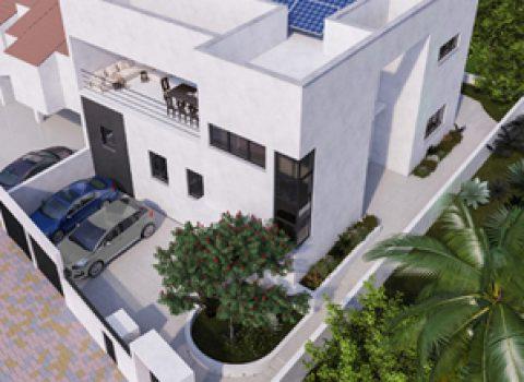 בית בתל מונד – בניה חדשה